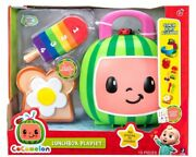 Cocomelon Lunchbox Playset 15 Pieces Stack Sort And Learn Counting Toy Set New