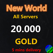 New World Coin Gold 2000 Coins 2k All Us Server East West Ap Southeast Pc