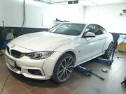 Wide Body Fender Flares For Bmw 4-series F32 M-sport Coupe Parsan-tuning Abs