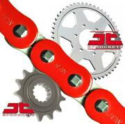 Afam / Jt Red Upgrade Chain And Sprocket Kit Gsxr1100 L-n 530 Conv 90-92