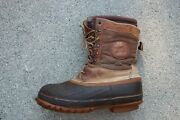 Mens Size 10 Lacrosse Ice King Insulated Winter Boots Ice Fishing Made Usa Snow