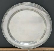 And Co. Vintage Sterling Silver 13 Plate Approx 900 Grams Circa 1907-1947