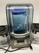 Vitamix The Quiet One On-counter Vm0145 3 Containers Works Great Free Shipping