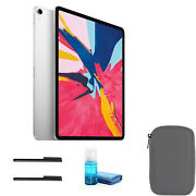 Apple Ipad Pro 12.9 Inch Late 2018, 64gb, Wi-fi + 4g Lte, Silver With Gray