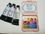 Daniel Smith Jean Haines All That Shimmer Metallic Watercolor Set Of 12 Colors