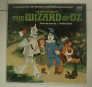Factory Sealed The Wizard Of Oz Story And Songs Lp Vinyl 12record 1969 3957