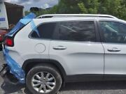 14 Cherokee Passenger Rear Side Door Privacy Tinted Glass White 3228786