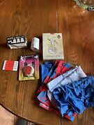 Lot Of Magic Tricks Items Cups And Balls Computer Trick Hankys Cards