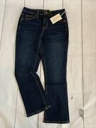 Universal Thread Womens Size 00/24r Blue Jeans High Rise Kick Boot Crop Flared