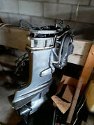 40 Hp Mercury Long Shaft Outboard For Parts. Freshwatertilt/trimnew Prop
