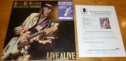 Beckett Stevie Ray Vaughan And Double Trouble Signed Vintage Record Album Aa06008