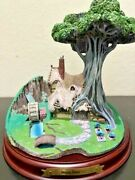 Wdcc Sleeping Beauty - Woodcutter's Cottage Enchanted Places W/ Box