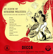 Mantovani And His Or - An Album Of Strauss Waltzes - Vinyl Record.. - D12716d