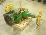 1964 John Deere 4020 Diesel Tractor Powershift Transmission And Rearend Assembly