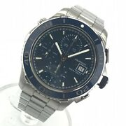 Tag-heuer Cak2112.ba0833 Aqua Racer 500m Menand039s Watch Blue Dial From Japan N1014