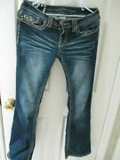 Women's Jr Premium Vanity Collection Brand Jeans / Size 27w And 31l