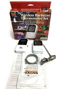 Maverick Meat Thermometer Et-732 Wireless Bbq Thermometer Set