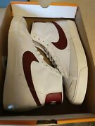 Nike Blazer Mid And03977 Vintage Menand039s Shoes White Sail Maroon Size 13 Bq6806-111