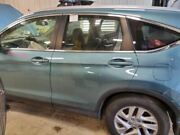 Driver Rear Door 15 Cr-v Power Privacy Glass Green 3243521