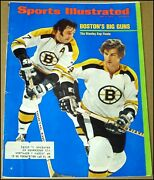 5/8/1972 Sports Illustrated Boston Bruins Stanley Cup Finals Bobby Orr Esposito