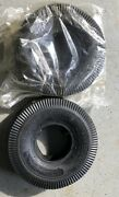 2 4.10/3.50-4 Pneumatic Utility Tires With Inner Tubes