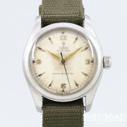Tudor Oyster Small Rose Ref.7803 Vintage Manual Winding Mens Watch Auth Works