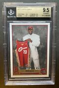 2003-04 Topps 221 Lebron James Rc Rookie Bgs 9.5