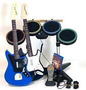 Rock Band 4 Ps4 Bundle Sony Playstation 4, Ps4 2015 2 Guitars Tested