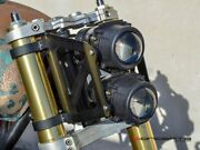 54mm 55mm Motorcycle Fork Dual Stacked Projector Headlight Street Fighter Naked