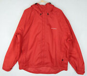 Gage By Gruden's Sport Fishing Hooded Jacket Rain Coat Size Xxl 2xl Red Storm
