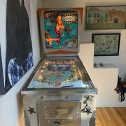 Dec 1965 Gottlieb Ice Review Pinball Pick Up Only Los Angeles Ca + Paperwork