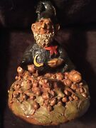 Tom Clark Gnome Wizard-very Rare, Hand Signed By The Artist