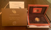 2015 Jacqueline Kennedy First Spouse Gold Proof Coin Box And Coa
