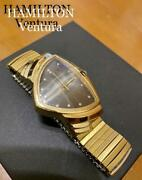 Extremely Rare Discontinued Ventura Initial Reprint 6250a Gold