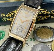 Gorgeous Bulova/antique/hand-wound/square/menand039s Watches