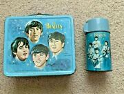 Beatles Lunchbox With Thermos 1965 Authentic Vintage Collectible Antique Rare