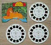 The Lion King Viewmaster Reels 1994 Set 3095 Rare With Part Packet L468