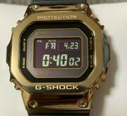 G-shock Gmw-b5000kl Kolor Collaboration Model Very Rare Color Gold Wristwatches