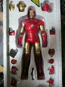 Hot Toys Iron Man Mark 3 Die-cast Open Normal Version 1/6 Scale Action Figurine