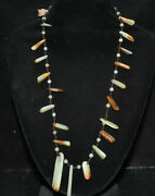 10and039and039 Unique Old Chinese Natural Hetian Jade Carving Long Square Necklaces