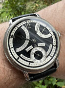 Maurice Lacroix Masterpiece Mp7068-ss001-390 Steel Manual Watch, 2010