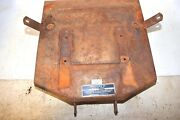 Wards Squire 10 Simplicity Allis B10 Tractor Seat Pan Riding Lawn Mower Part