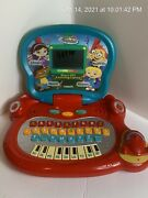 Little Einsteins Disney Vtech Laptop Tested Works Missing Battery Cover Preowned