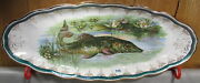 Sterling China Northern Pike Musky Fish Platter 21 Server Plate Ships Free