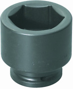 Williams 8-6196 1-1/2 Drive Impact Socket 6 Point 6-1/8-inch