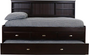 Discovery World Furniture Full Daybed With 3 Drawers And Trundle Desk Hutch An
