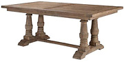 Uttermost Stratford Salvaged Wood Dining Table Brown