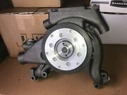 Water Pump For Detroit Diesel 8.2l, With Custom Pulley And Back Plate