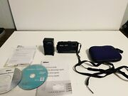 Nikon Coolpix Aw100 Camera With Battery And Charger- Black W/ Manual