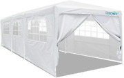 Quictent 10' X 30' Party Tent Gazebo Wedding Canopy Bbq Shelter Pavilion With Re
